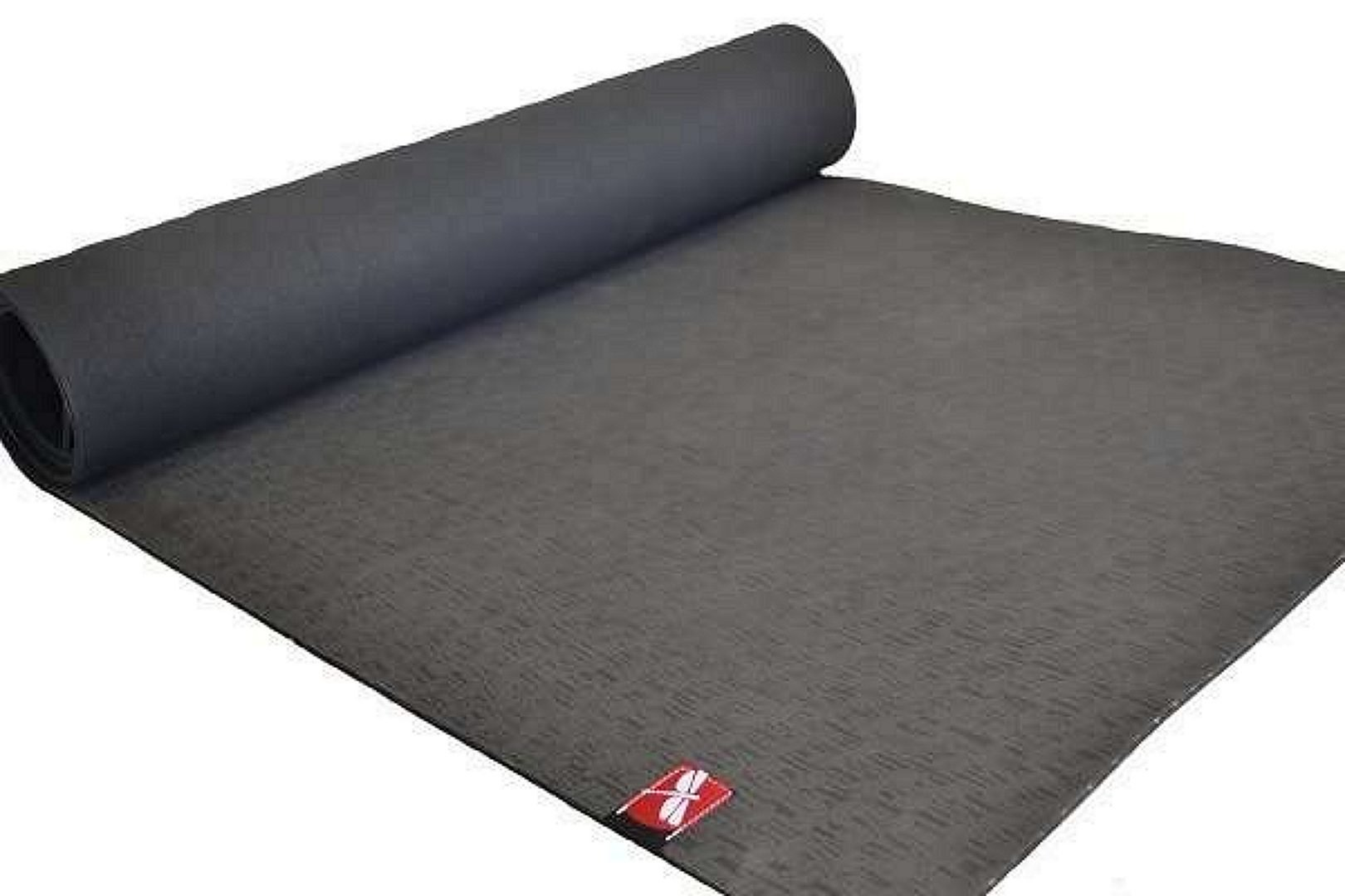 All Natural Rubber Yoga Mat, black