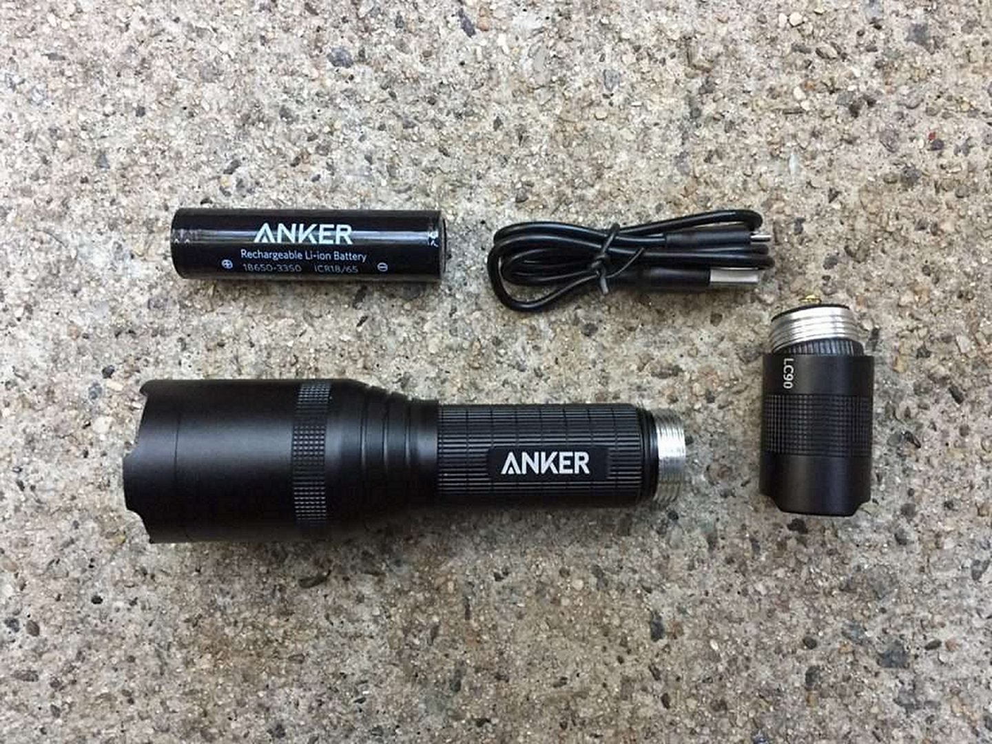 Anker Ultra-Bright Tactical Flashlight