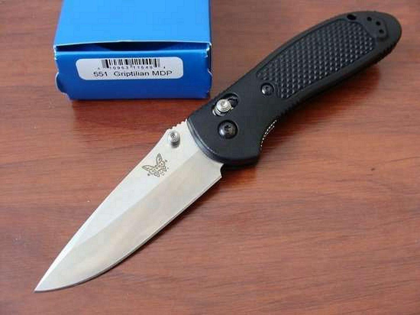 Benchmade GRIPTILIAN 551 Folding Knife