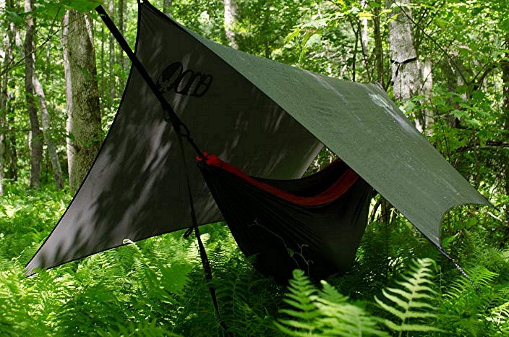 ENO Hammock Rain Fly in the woods