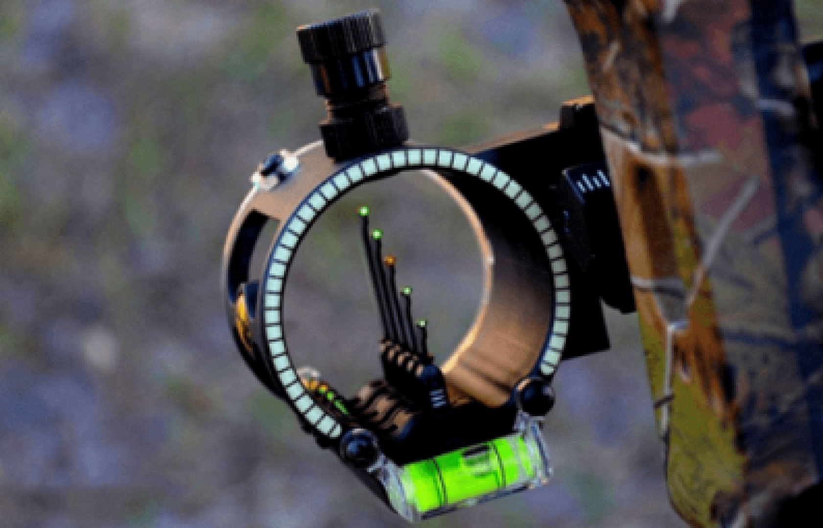 5-Pin Bow Sight Close Up View