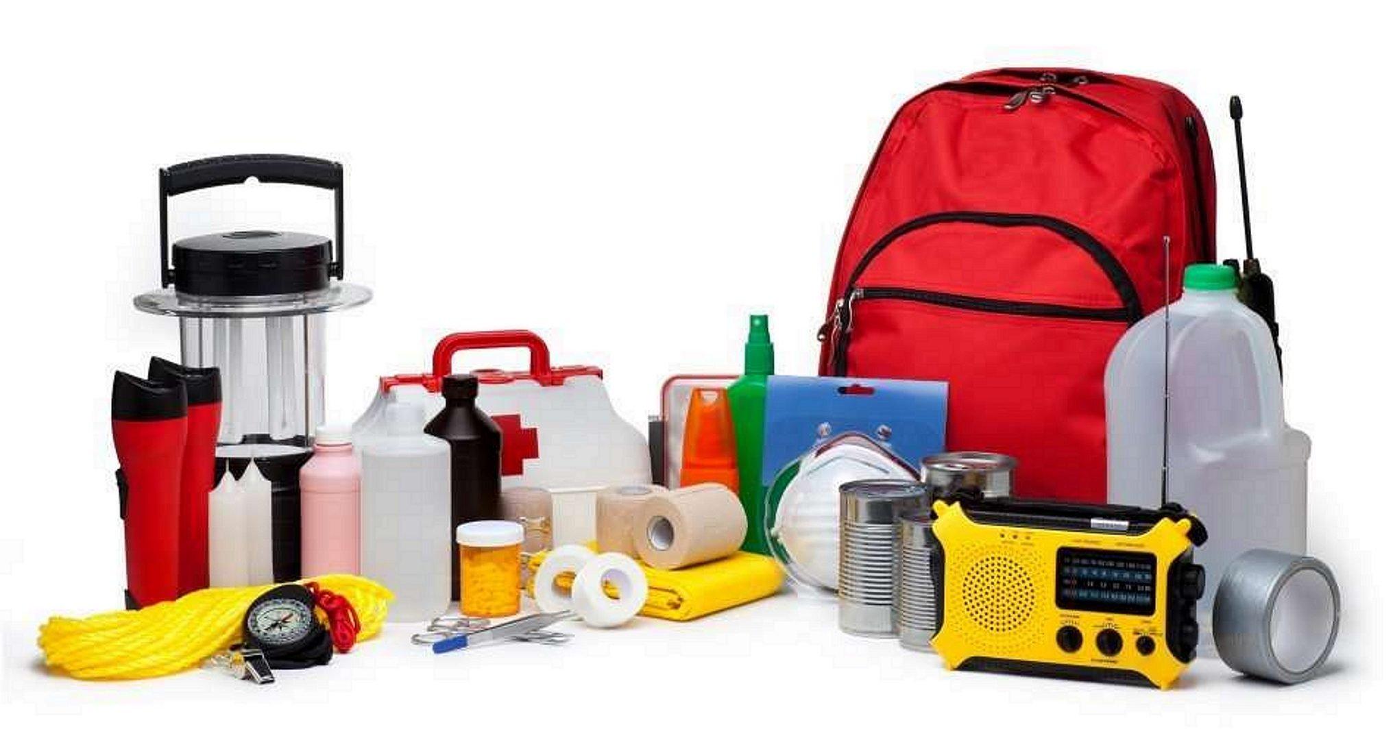 COMPLETE Earthquake Emergency Bag