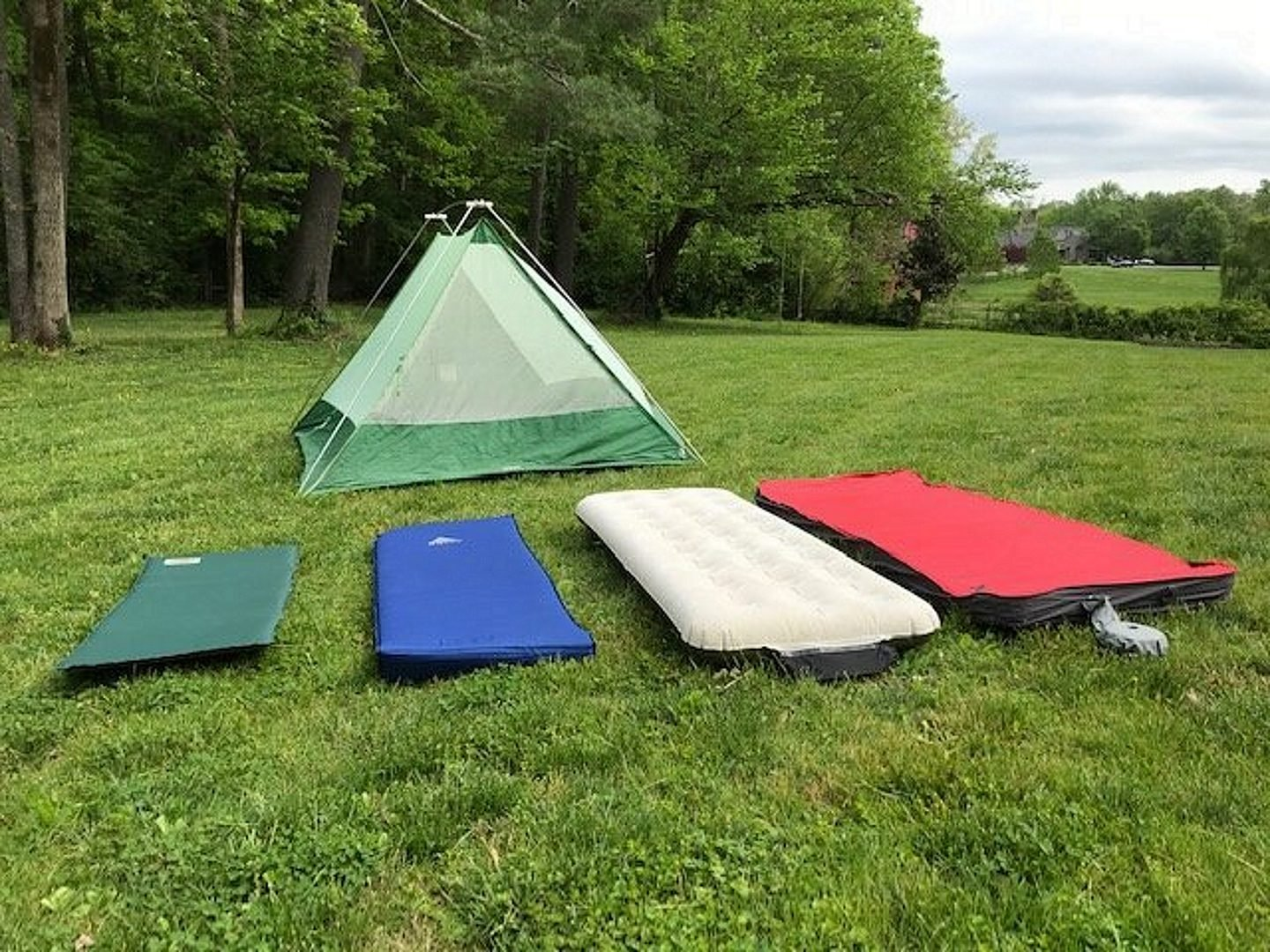 Sleeping Pads on the Woods
