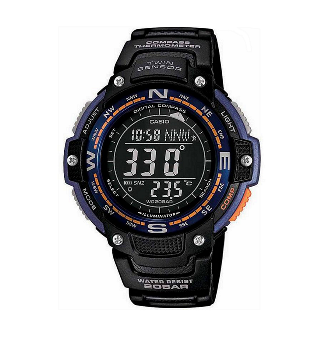 Casio SGW-100-2BCF Compass Watch