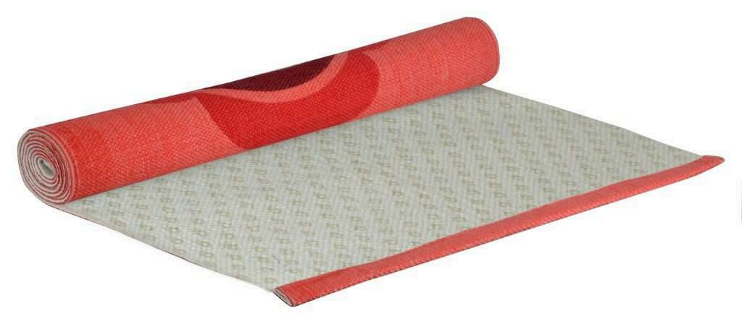 Cotton Yoga Mat, red