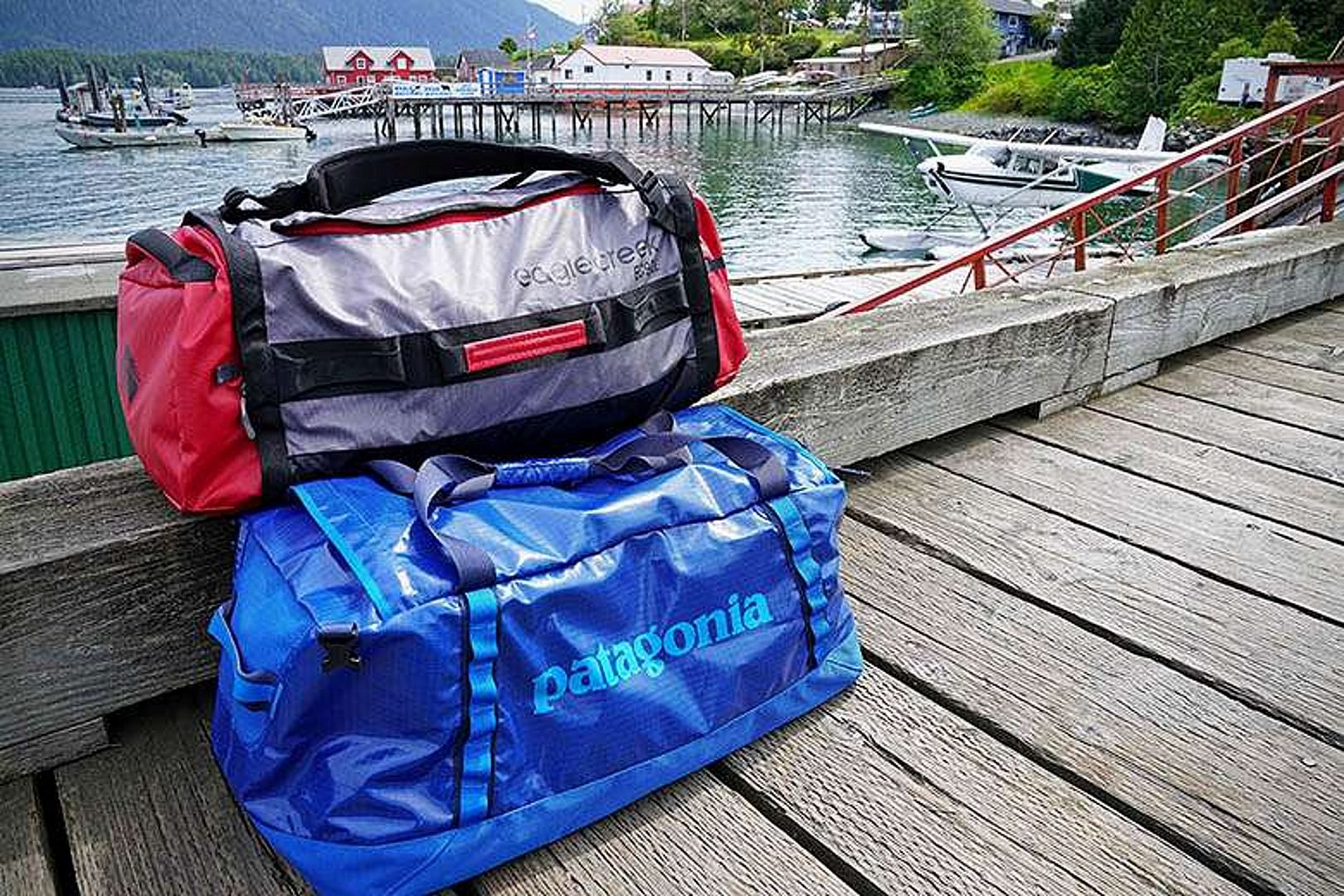 two Duffel bags Best Duffel Bag for International Travel