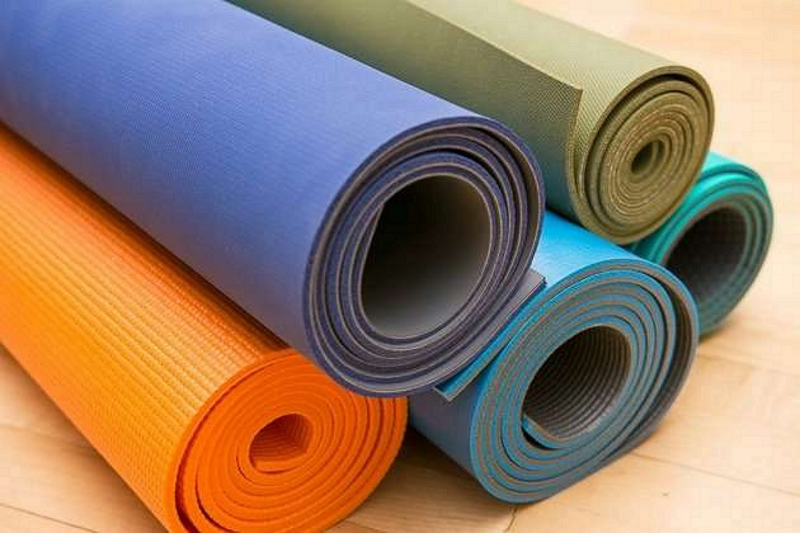 Yoga mat collection