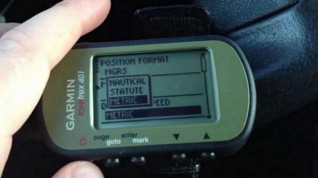 Garmin FORETREX 401 Handheld GPS