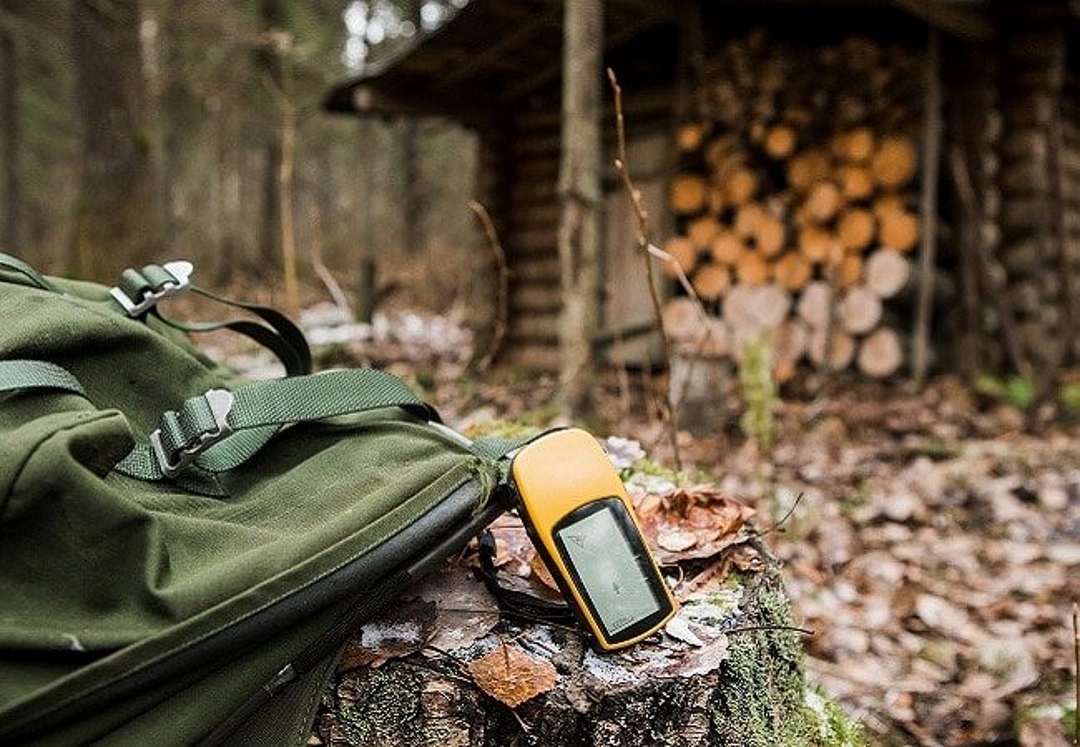 GPS in the woods