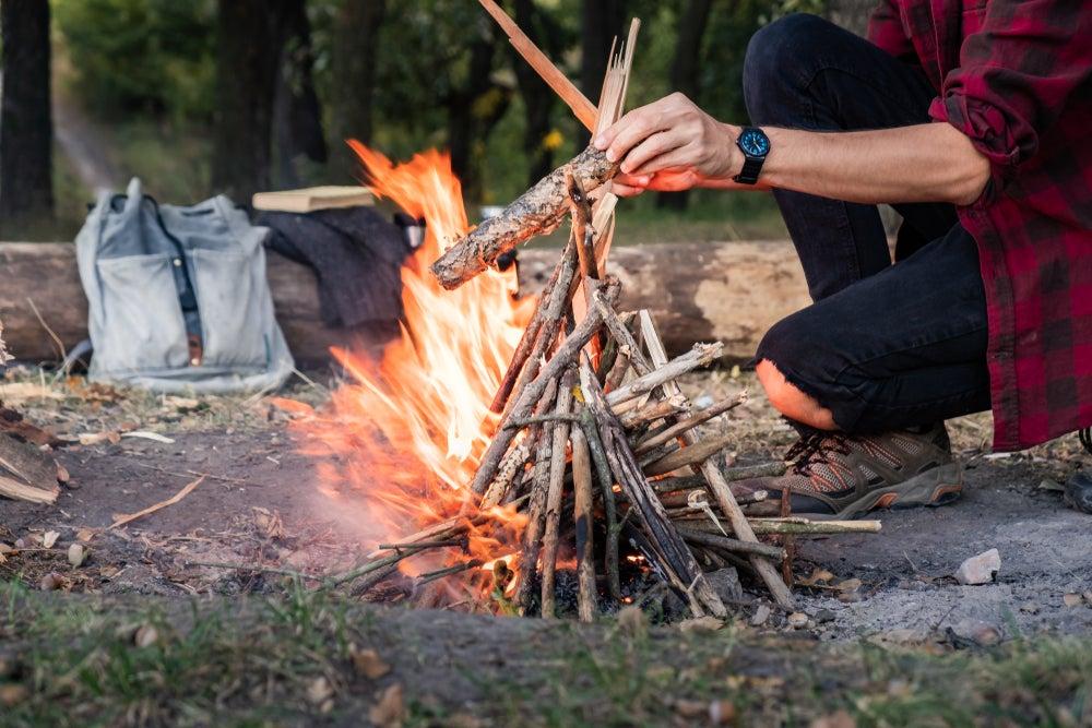 How To Build A Campfire How To Build A Campfire