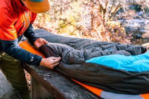 How To Fold A Sleeping Bag