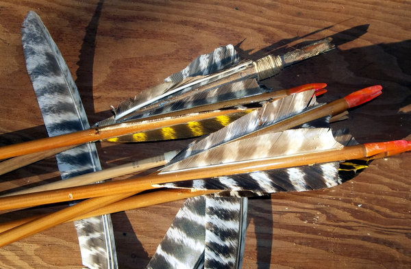 How to Make Turkey Wing Flu-Flu Arrows How to Make Turkey Wing Flu-Flu Arrows