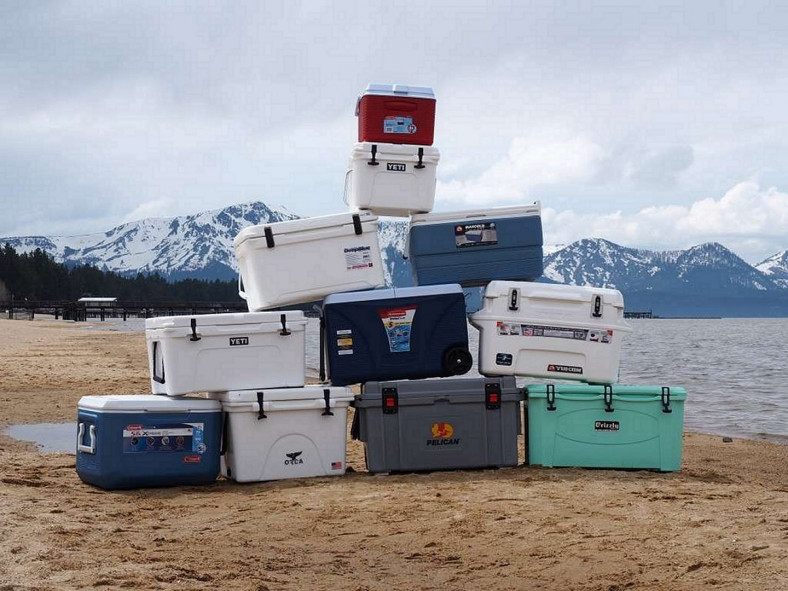 many coolers