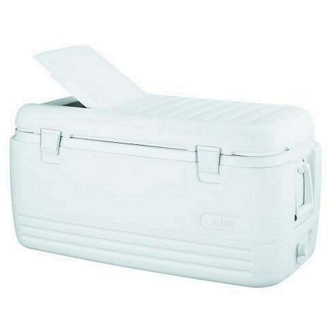 Igloo Quick and Cool 100 Qt. Cooler, white