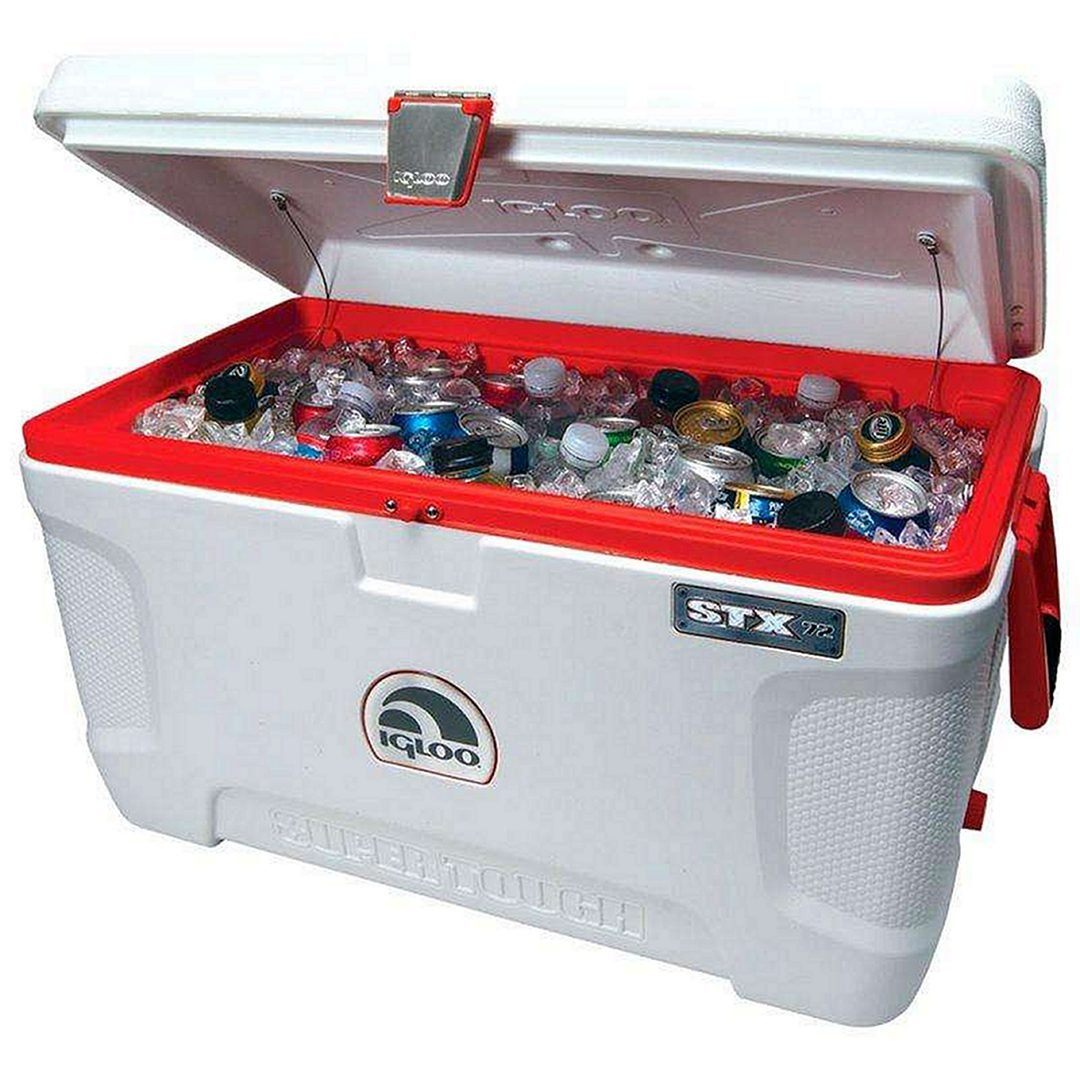 Igloo Super Tough STX 120-Quart Cooler, white