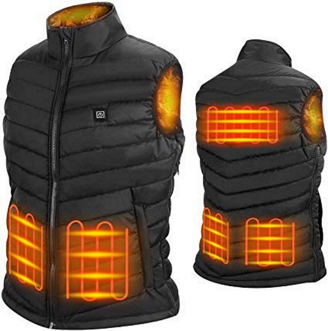 Nunewears 5V Unisex Heated Vest