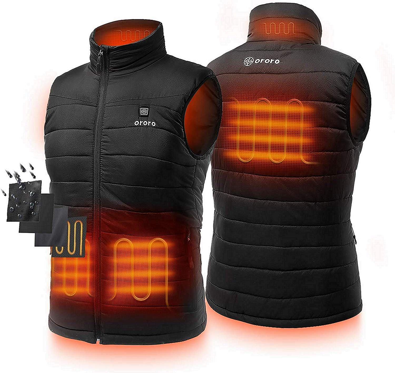 ORORO Lightweight Heated Vest