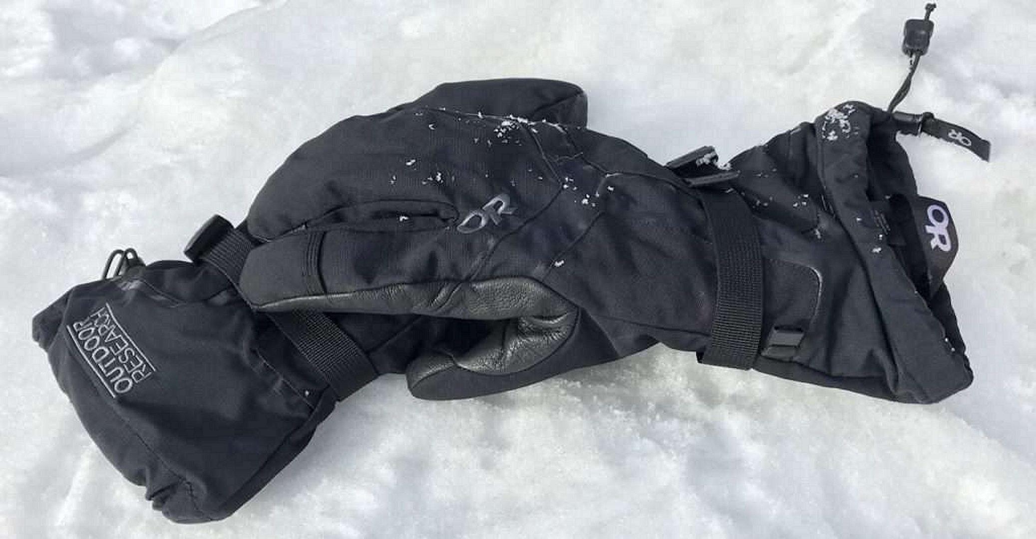 Outdoor Research HIGHCAMP 3-Finger Gloves for Men