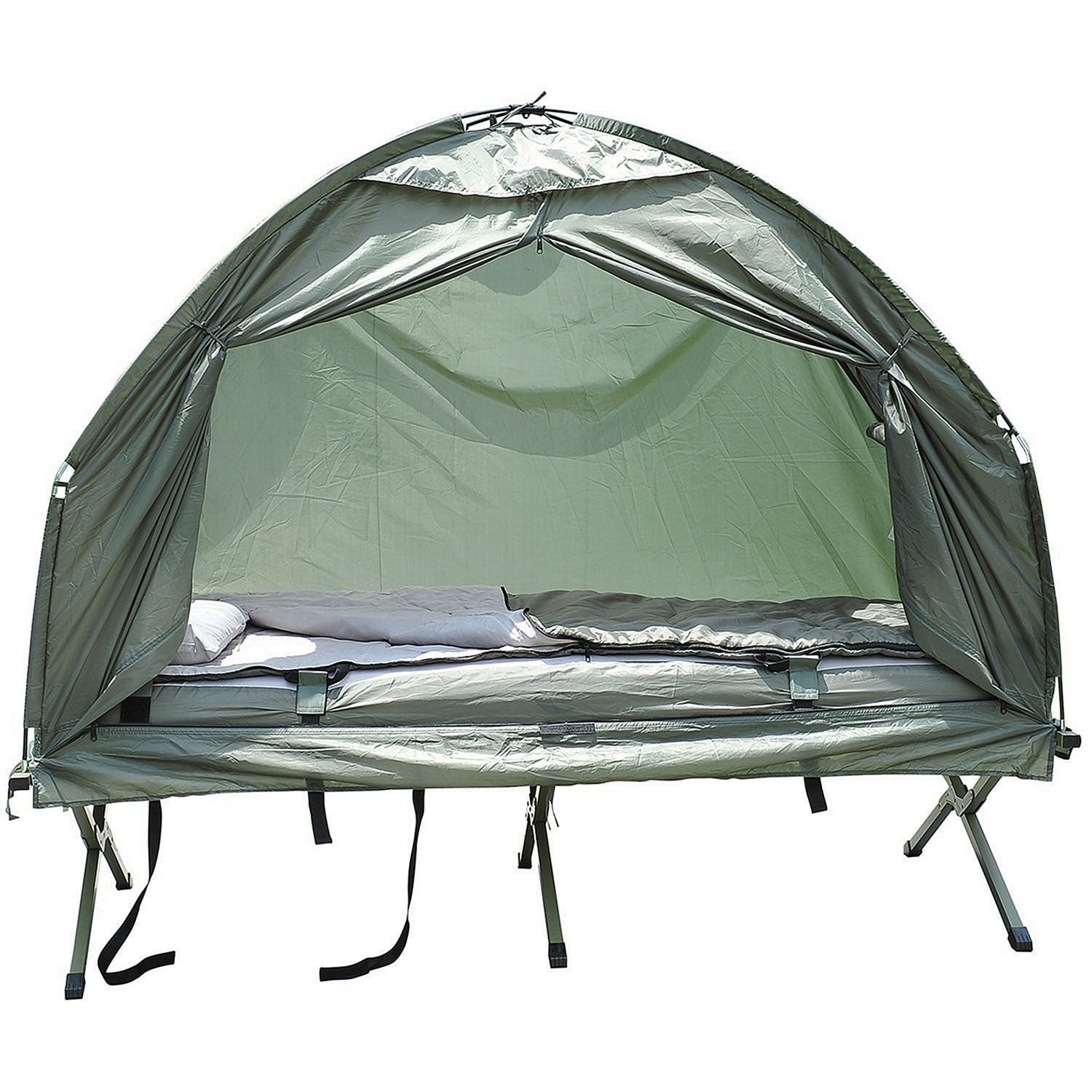 Outsunny Compact Portable Pop-Up Tent Cot