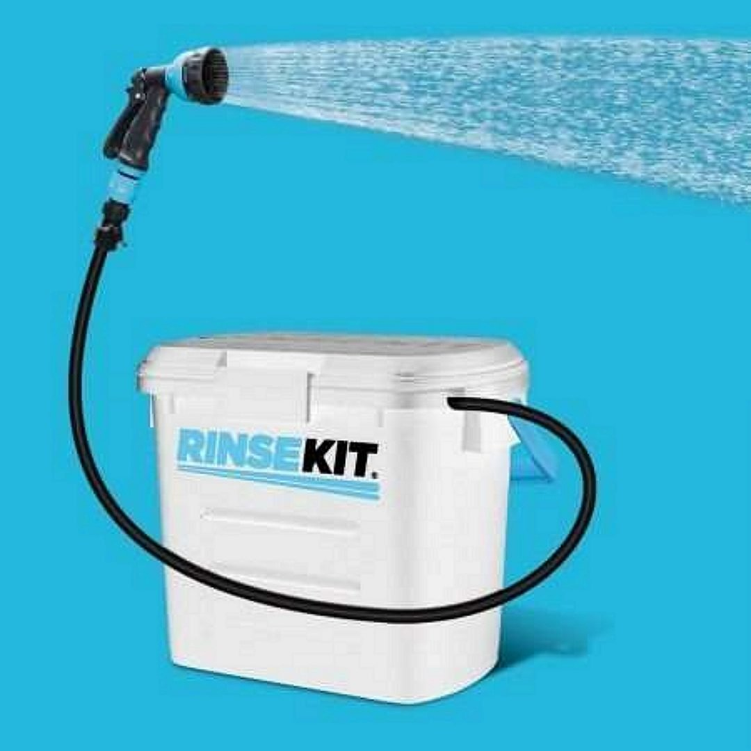 RINSE KIT Pressurized Portable Shower