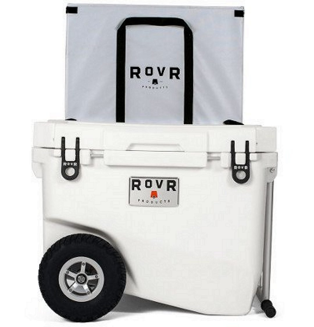RovR Wheeled Camping Rolling 60-Quart Cooler