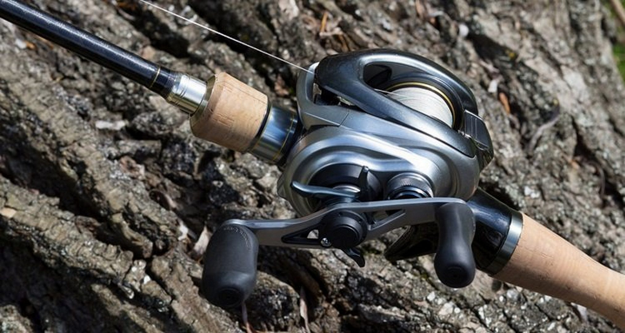 Baitcaster Reel Close Up View