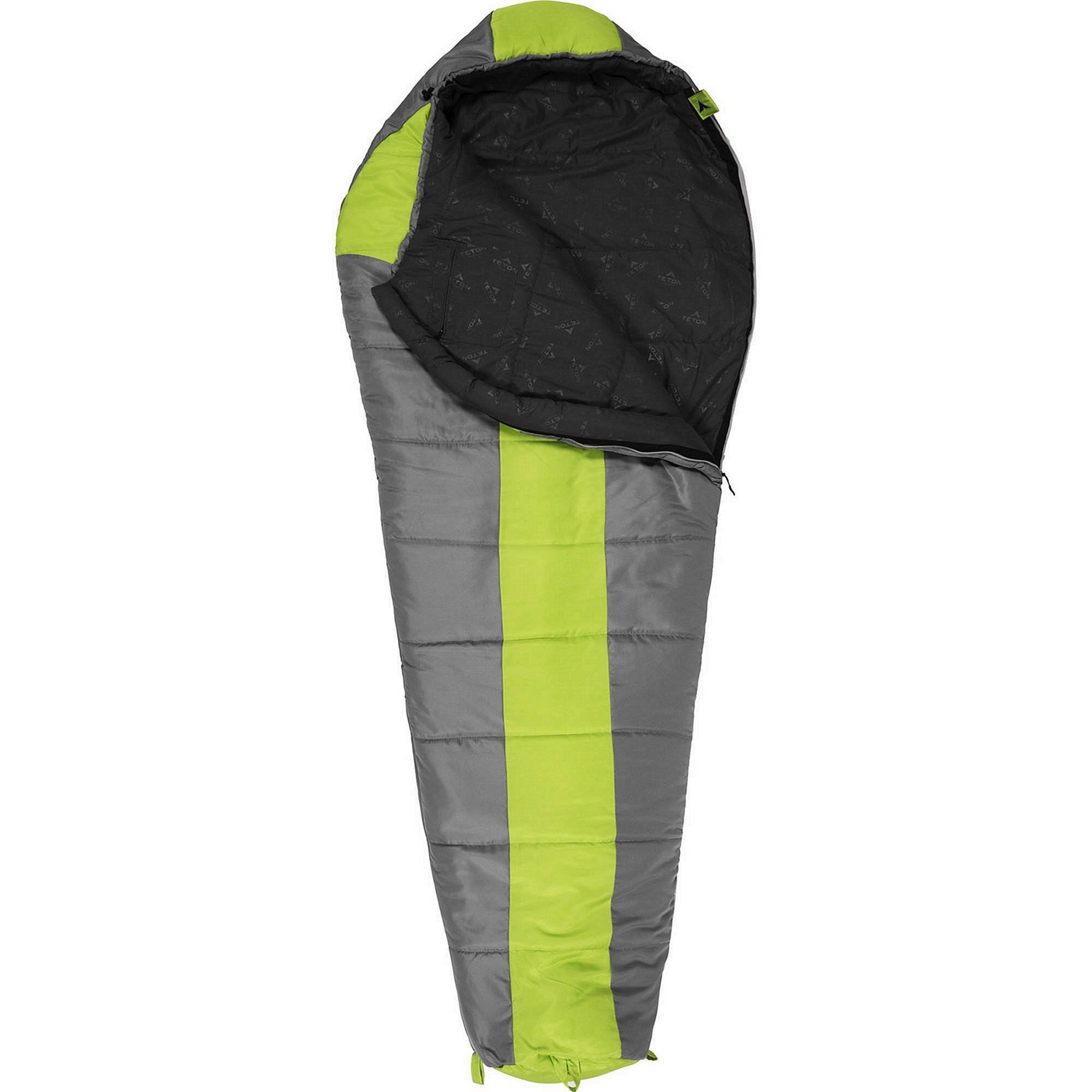 TETON Sports Tracker 5 Lightweight Mummy Sleeping Bag