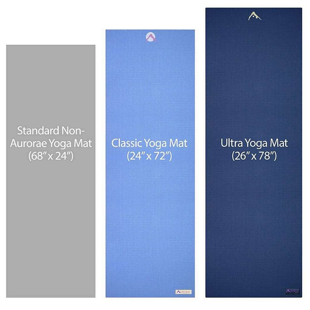 yoga mat lengths comparison