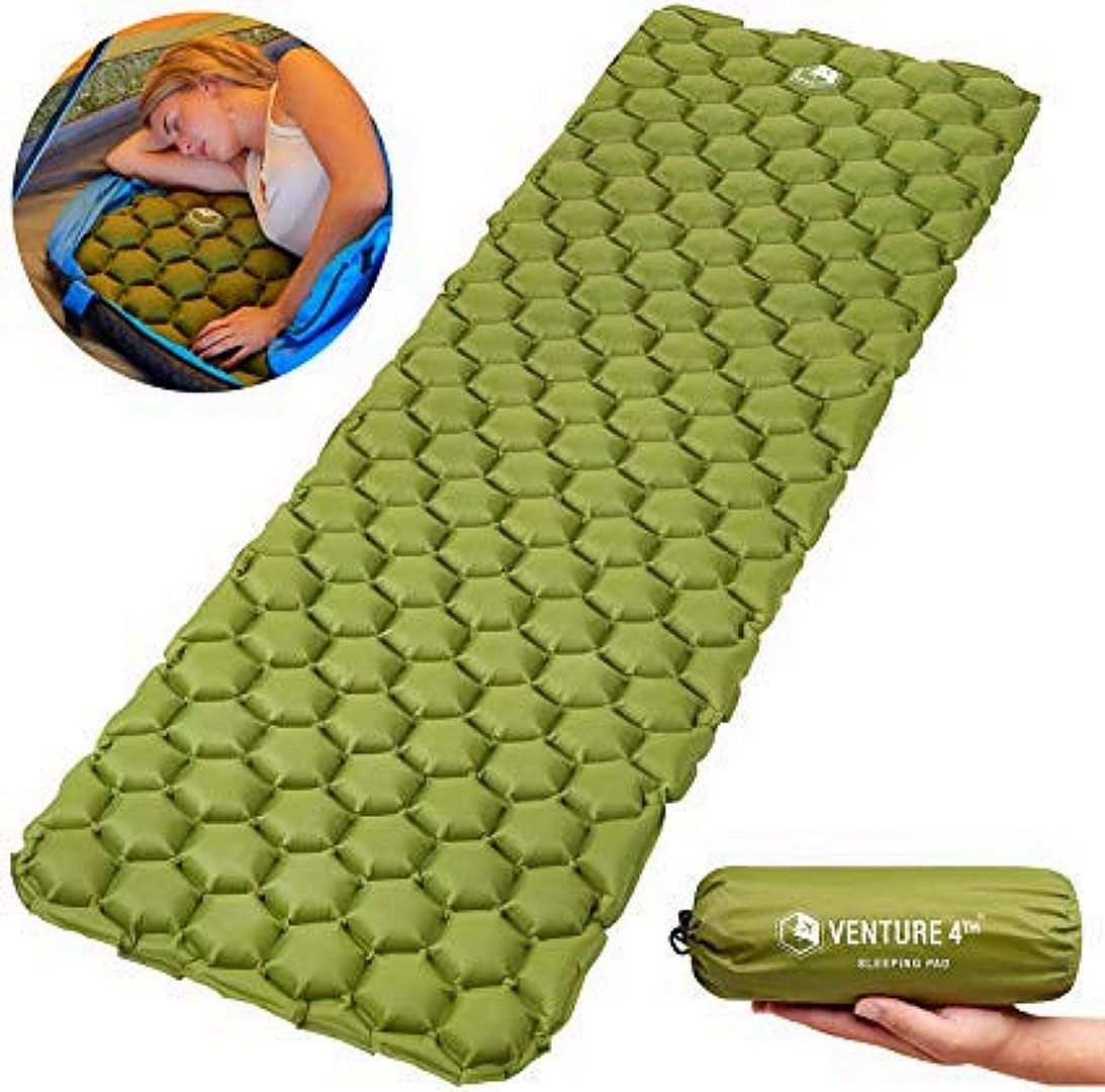 Venture 4th Ultralight Sleeping Pad, Green