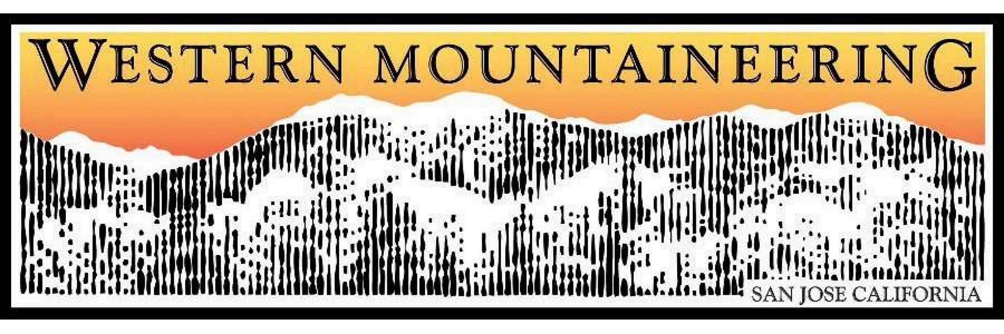 Western Mountaineering logo