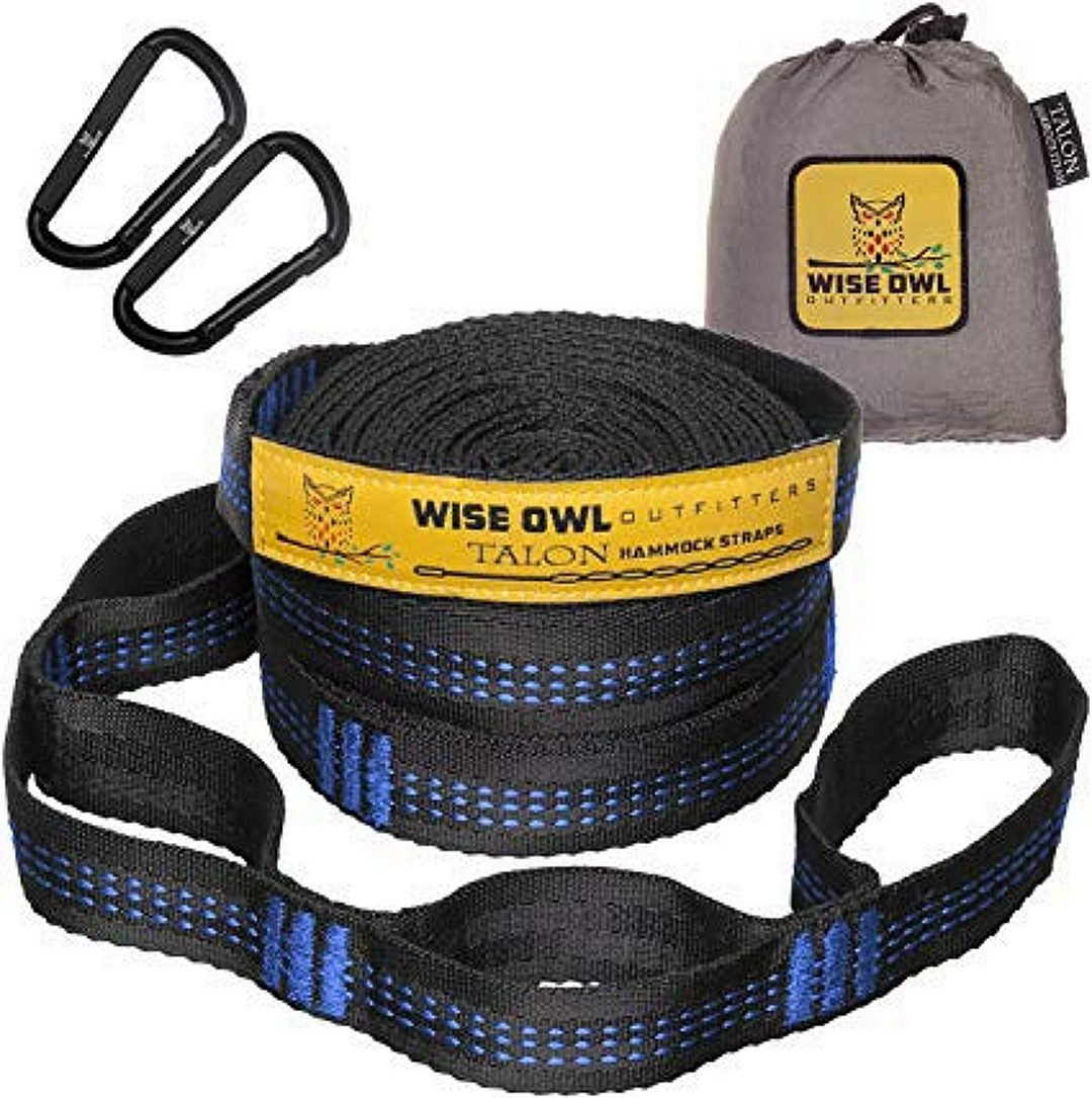 Wise Owl Outfitter Straps for Hammock 20 ft.