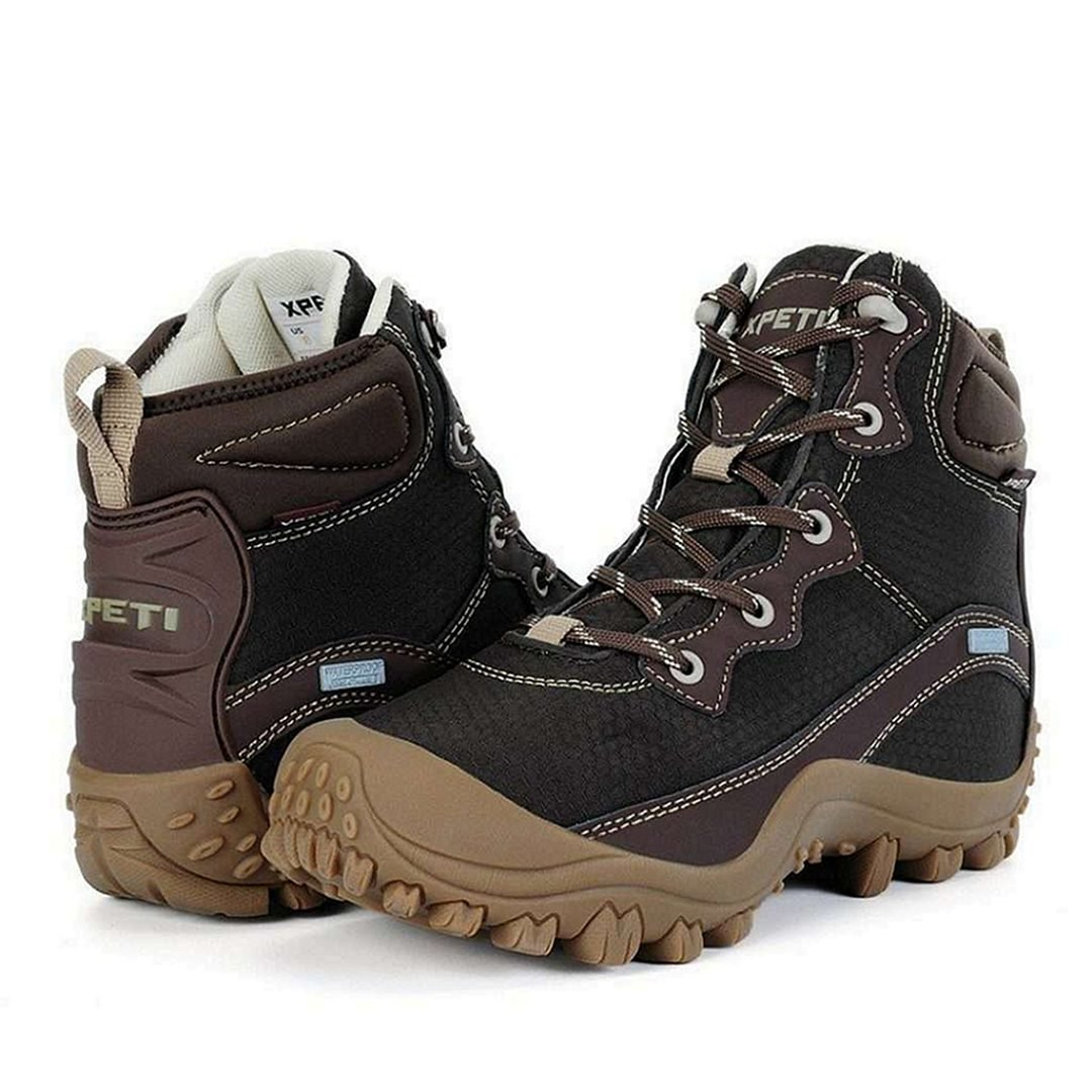 XPETI Men's Dimo Mid Waterproof Hiking Boots
