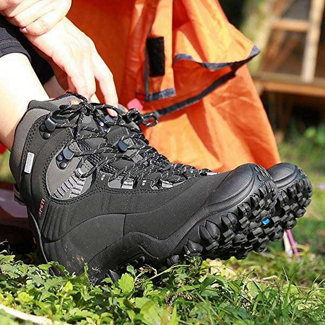 XPETI Men's Thermator Mid-Rise Waterproof Hiking Outdoor Boots