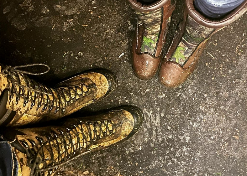 Yellow Snake Boots