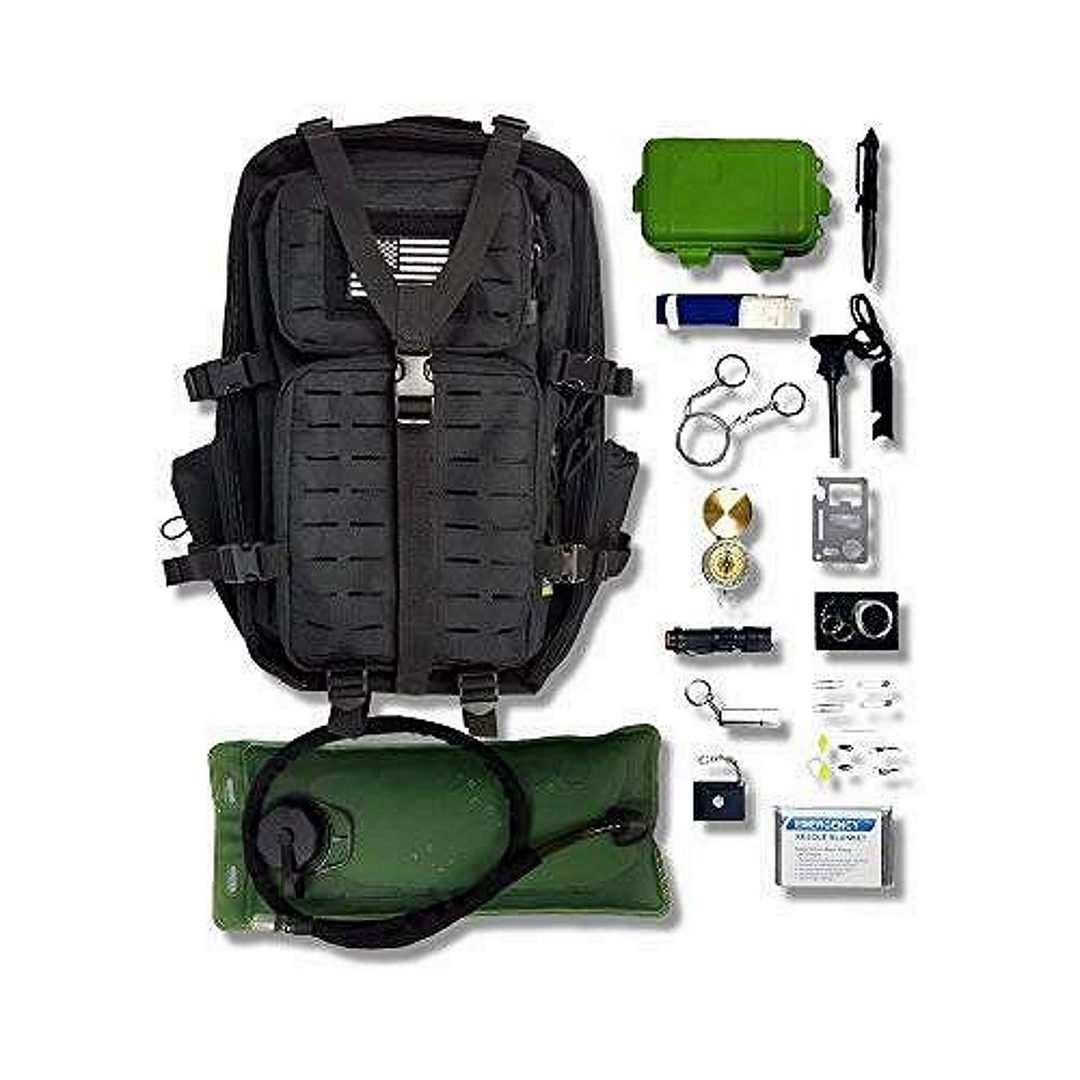 Zippmo BUG OUT Bag emergency Kit for 4 people