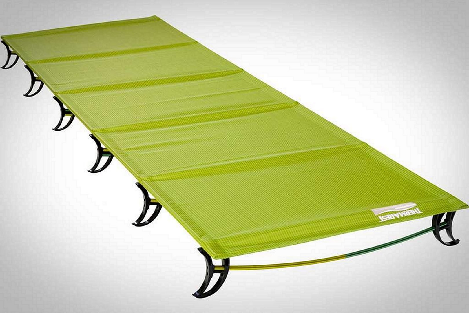 Thermarest camping cot, green