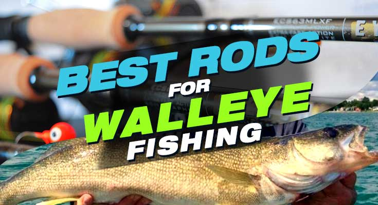 best rods for walleye fishing Best Rods for Walleye in 2021. Reviews & Buyer's Guide