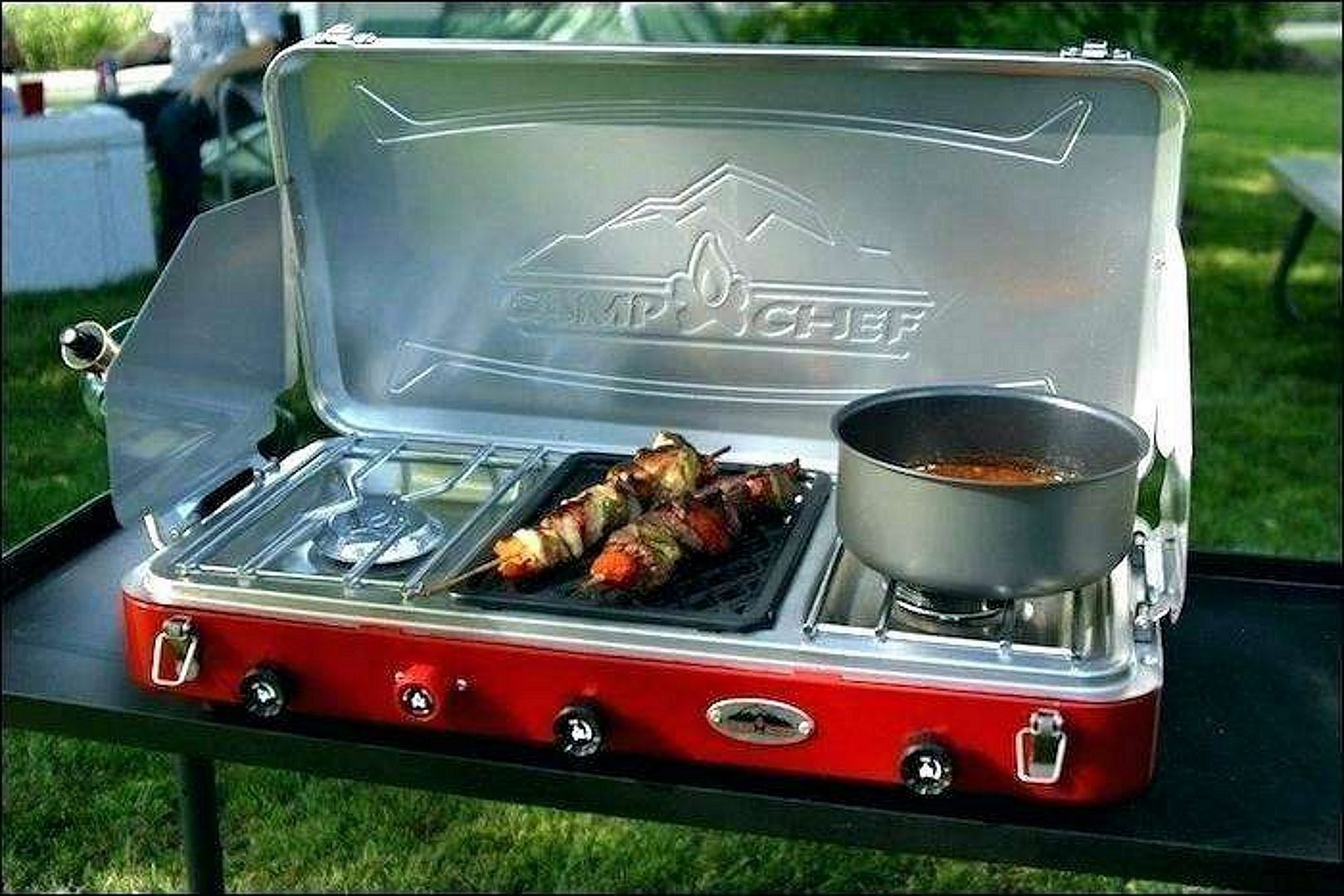 CampChef Camping Grill, red