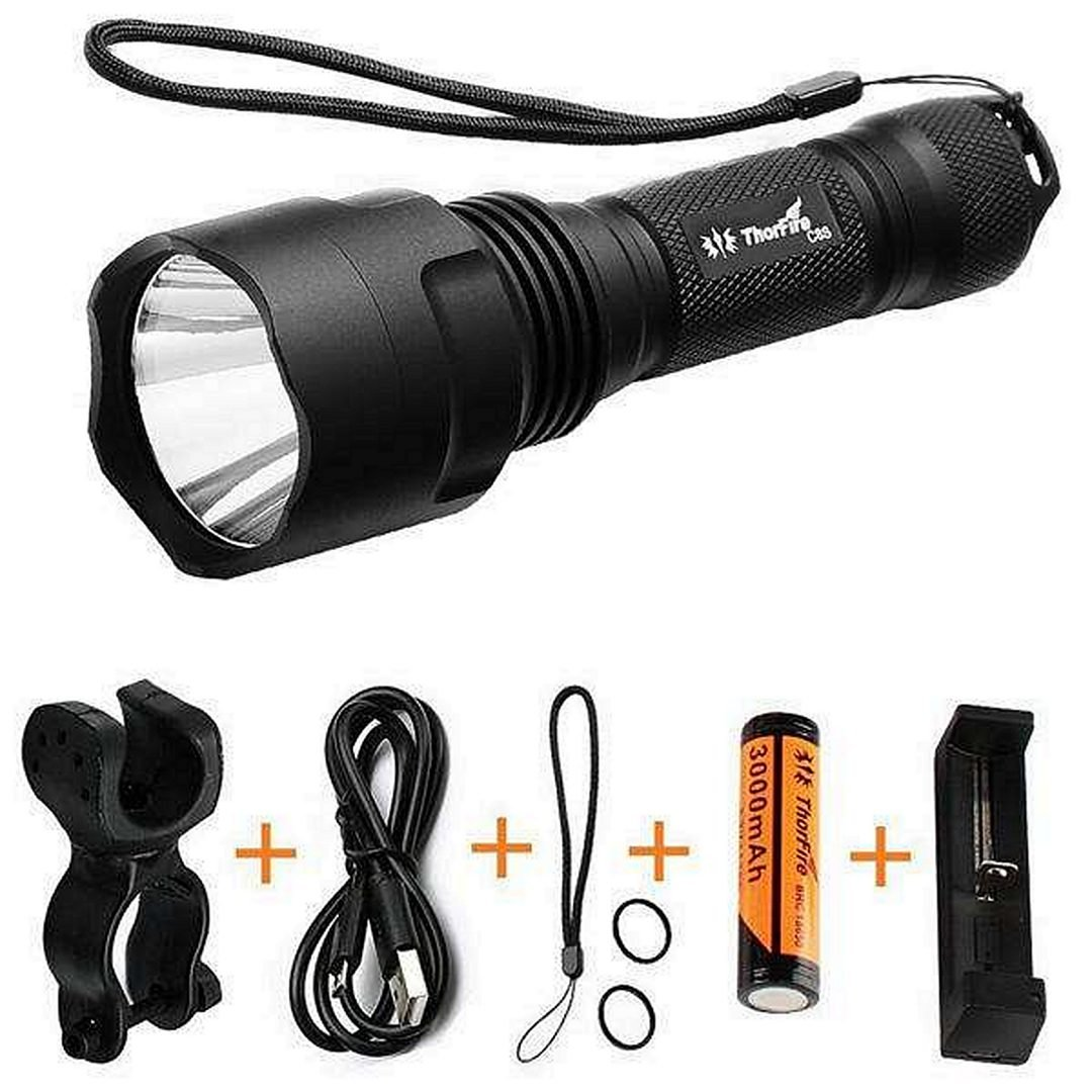 equipment delivery flashlight