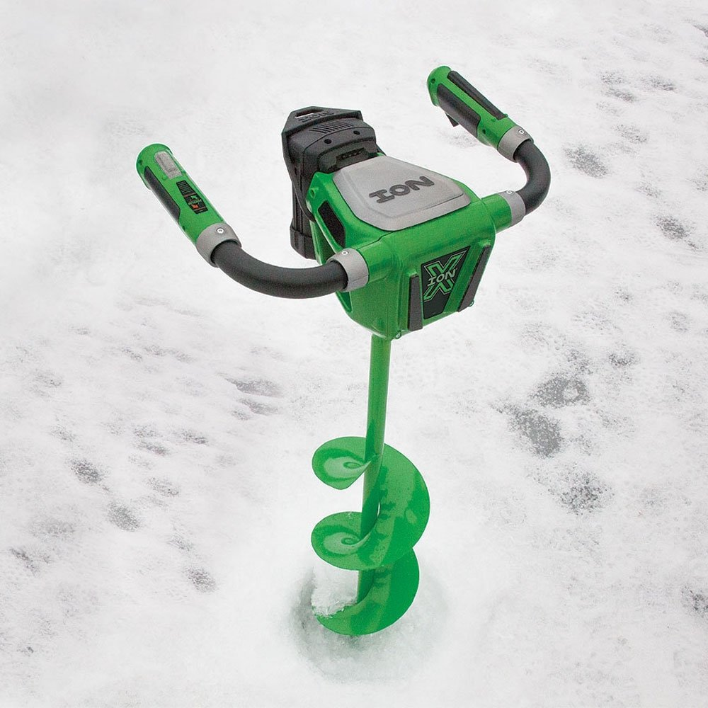 Photo of electric ice auger. TOP 6 Best Electric Ice Augers in 2021 – Reviews + Buyer's Guide