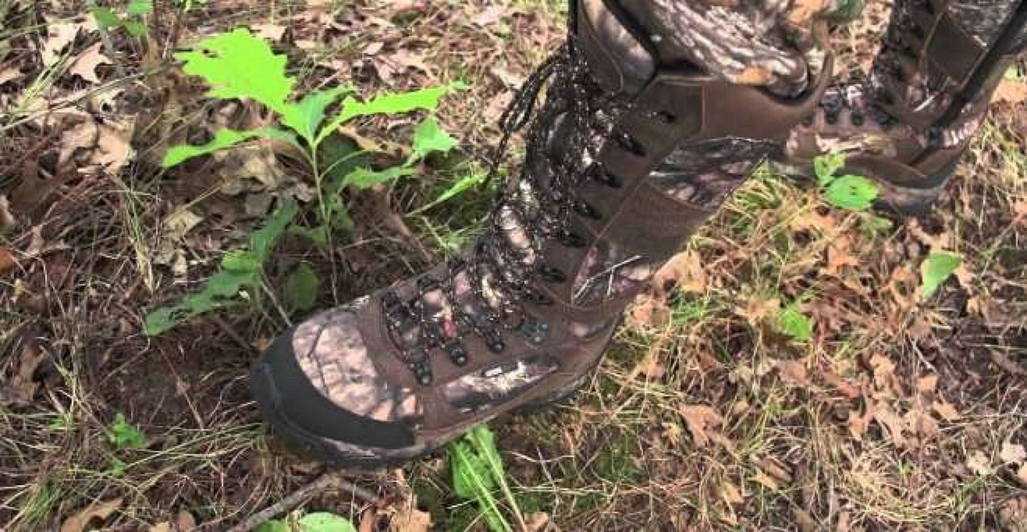 guide gear mens boots in the woods