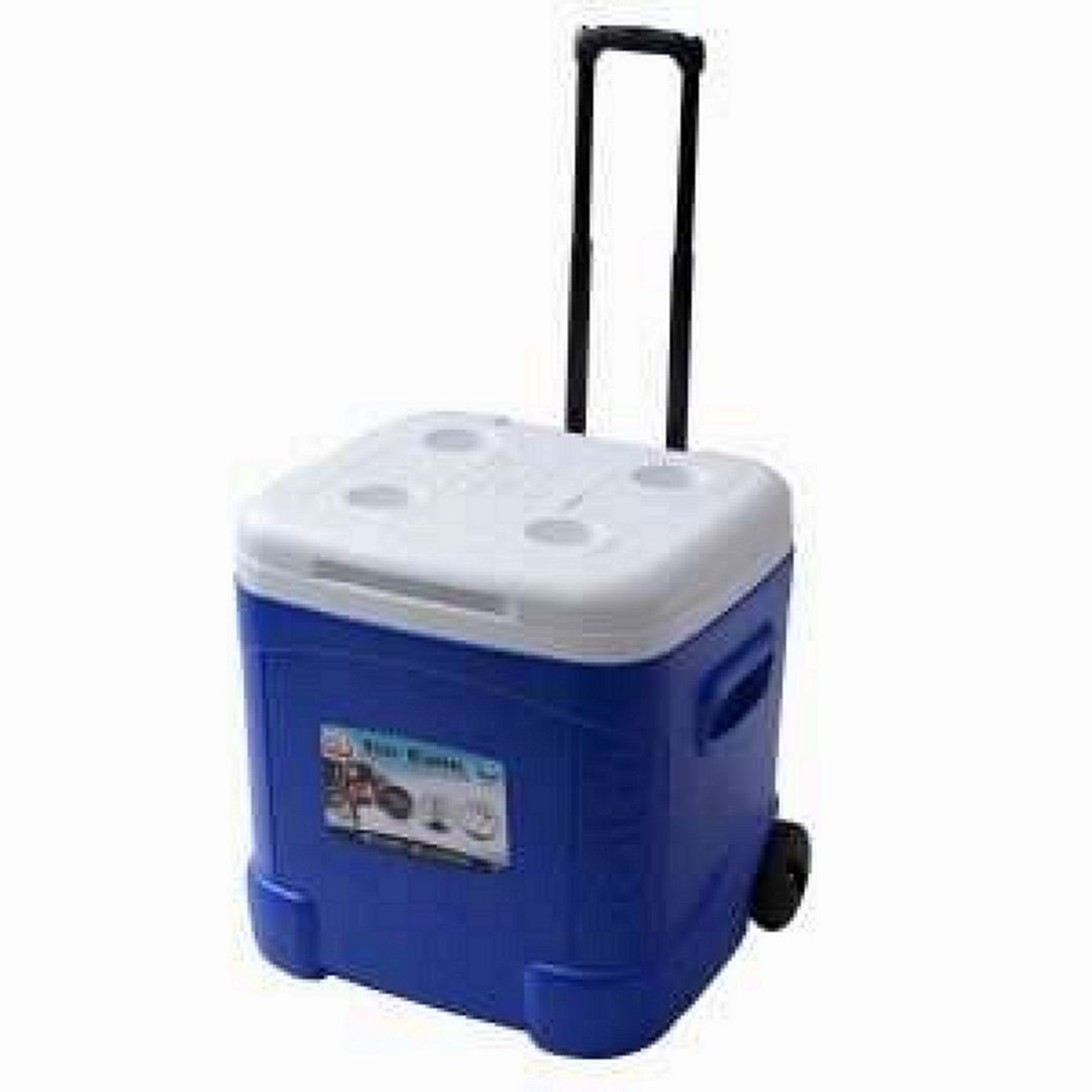 Igloo ice cube roller cooler with wheels