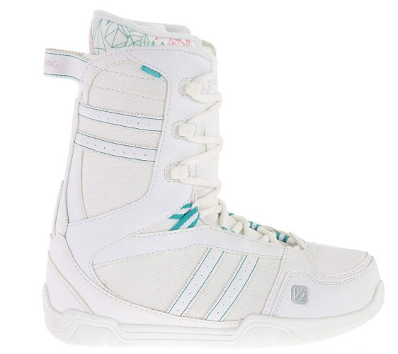 Picture of k2 women's snowboarding boots.