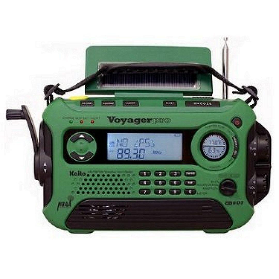 Kaito VOYAGER PRO KA-600 Emergency Radio