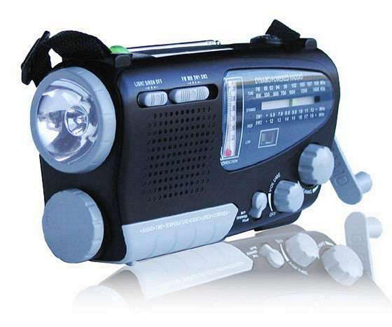 Emergency Radio with Flashlight
