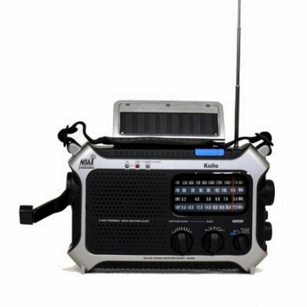Kaito KA550 5-Way Emergency Radio