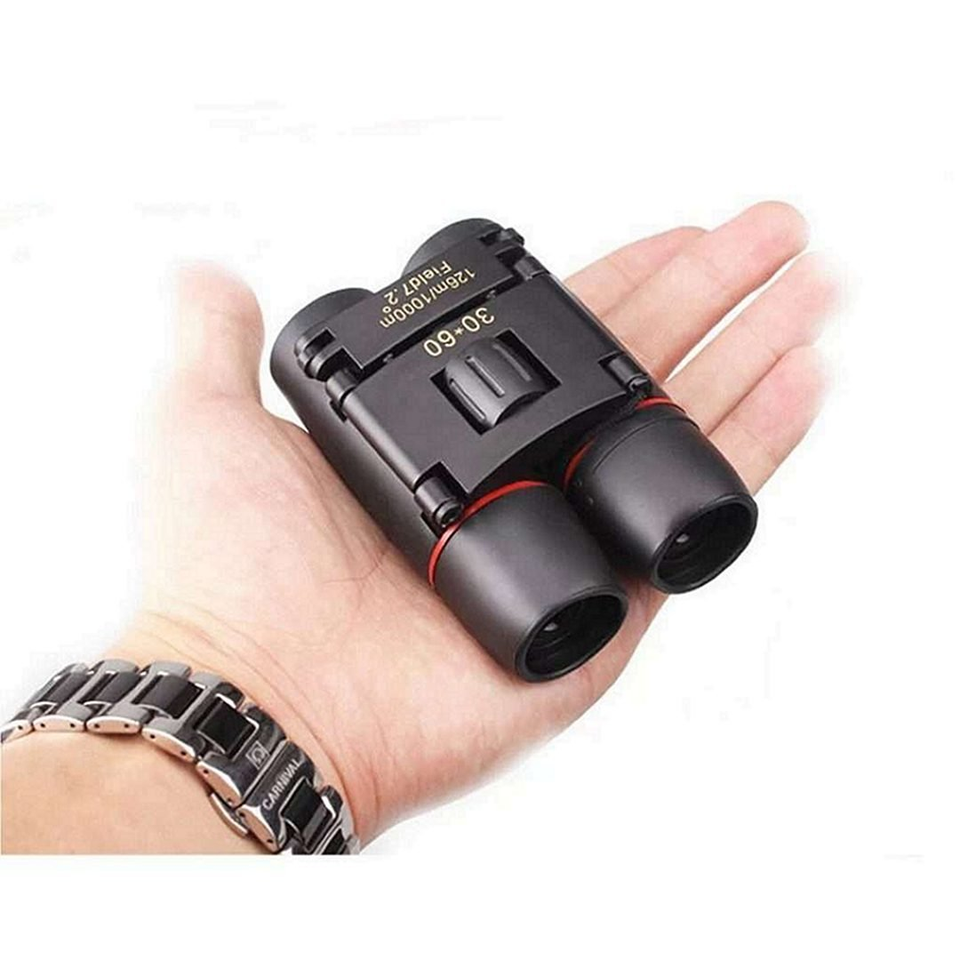 Tiny Binoculars on a Palm