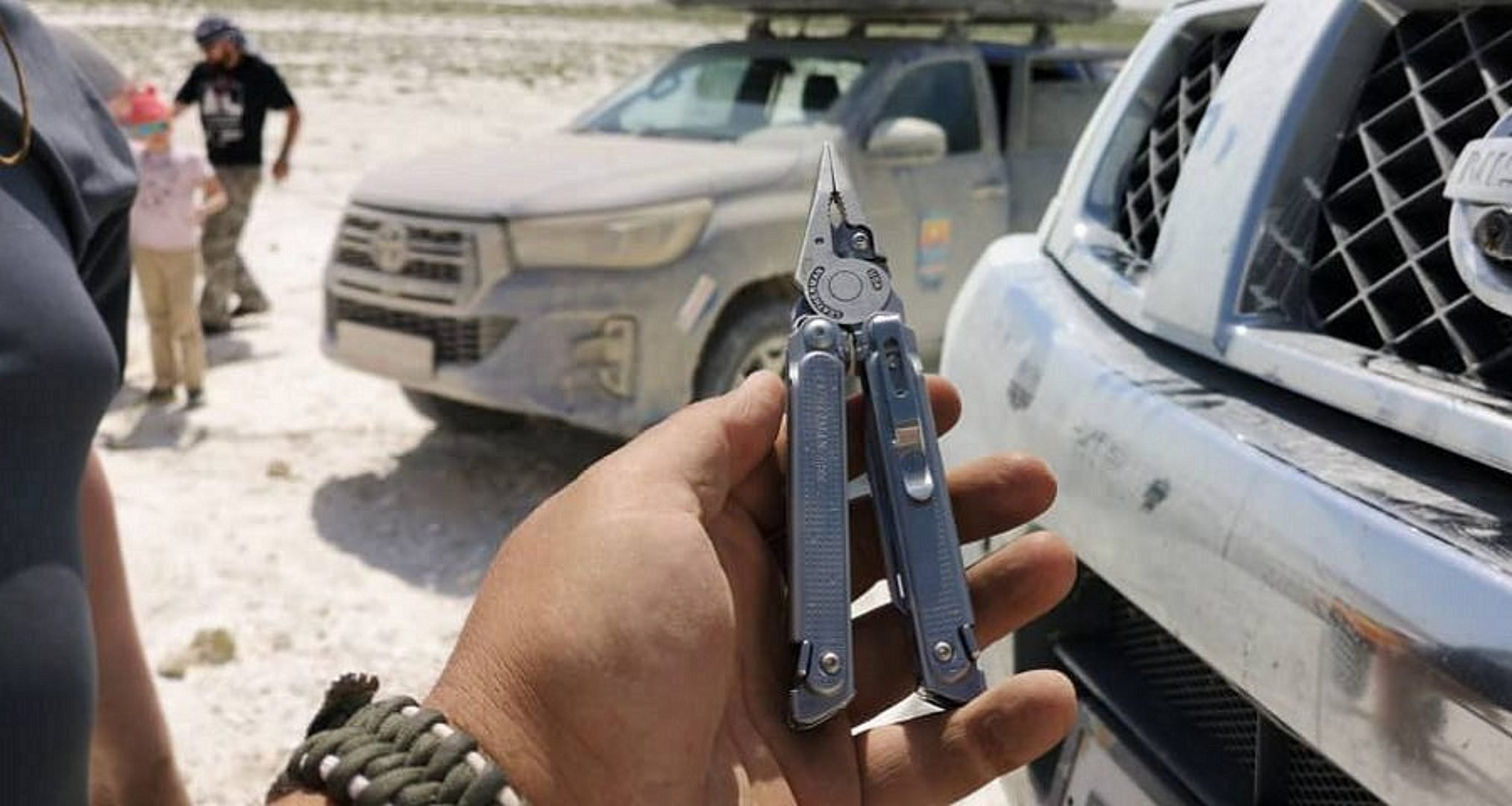 Multitool in a hand The 8 Best EDC Multitools for All Your Needs in the Outdoors