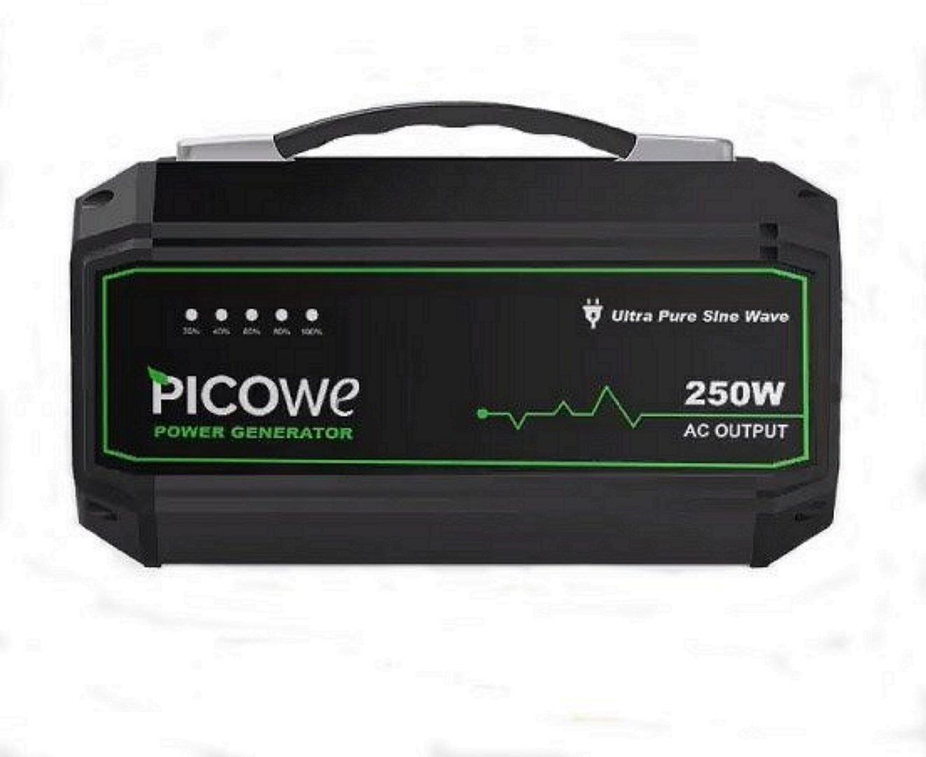 PICOWE 250W Portable Power Station