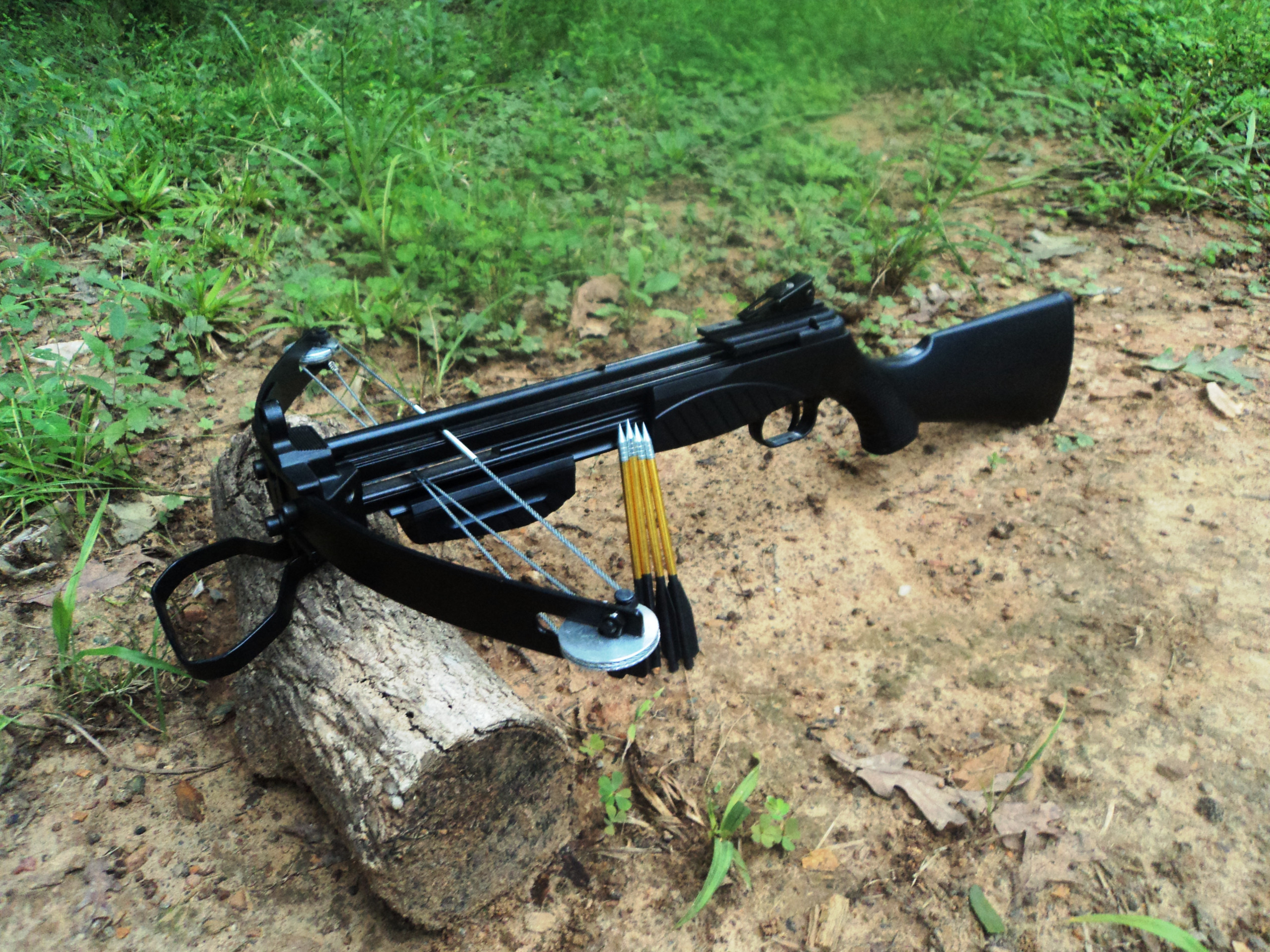 Photo of a pistol crossbow. TOP 8 Best Pistol Crossbows in 2021 – Reviews and Buyer's Guide